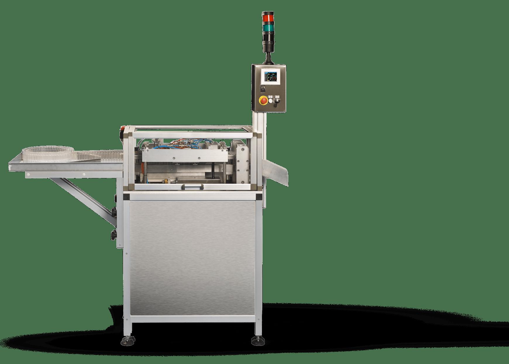 Produzione Linee Termoformatrici Riempitrici | Macchina Semiautomatica | MIRI | Valmatic srl